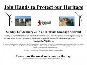 Navitus Bay Protest