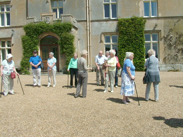 Arrival at Titsey Place