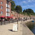 Waterside by canal Exeter
