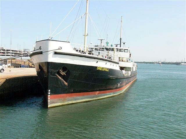 Shieldhall in Southampton dock