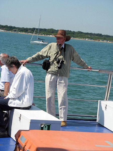 Our Vice Chairman enjoys the sea air.
