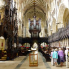 Guided tour of cathedral