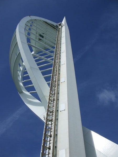 First stop was a booked visit to the iconic Spinnaker