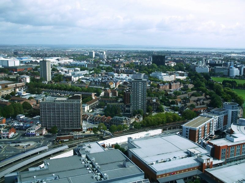 Fabulous views over the city from the viewing gallery