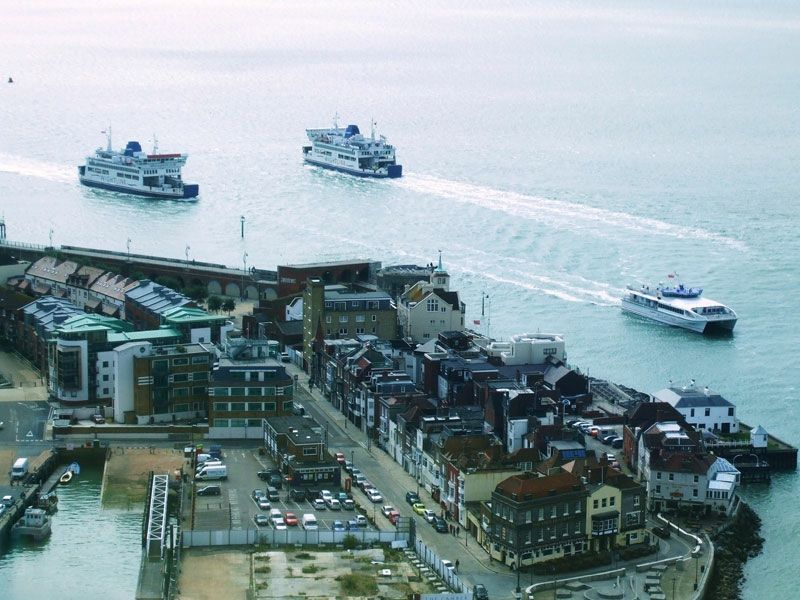 Three Isle of Wight ferries  for the price of one!