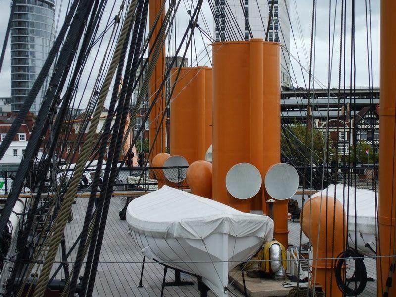 HMS Warrior's main deck