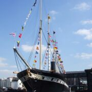 First sight of the magnificent SS Great Britain