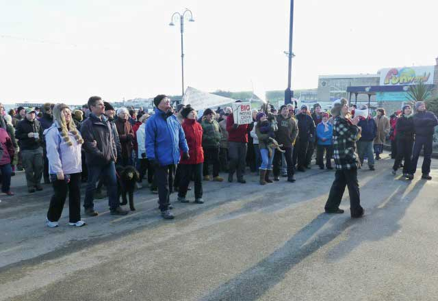 Navitus Bay protest 13th January 2013