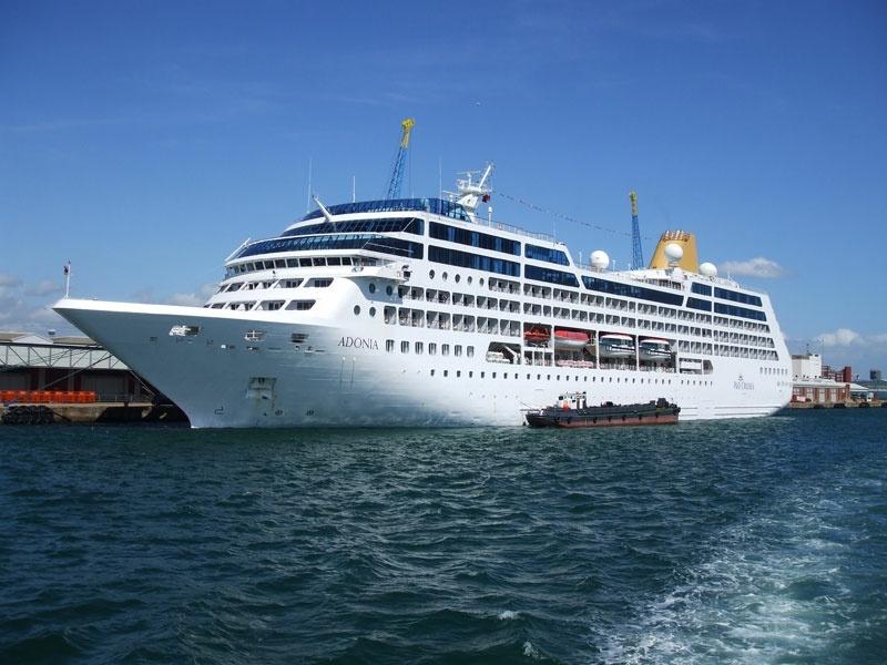 P & O cruise ship Adonia
